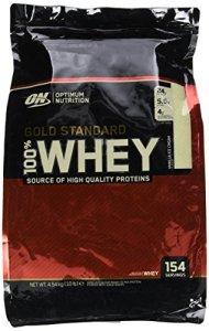 OPTIMUM NUTRITION 100% Whey Gold Standard Protéine Vanille 4.54kg