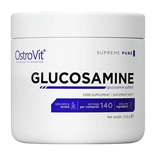 OstroVit Glucosamine -140 PORTIONS!   Pure   Complément alimentaire   Sans saveur   Os solides et santé des articulations   Poudre de récupération