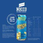Nocco BCAA Drink, 24 x 330 ML Dosen (Pfandartikel) (Summer Edition: Limon Del Sol)