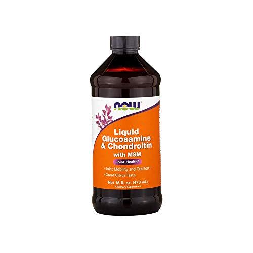 NOW Foods Liquid Glucosamine & Chondroitin with MSM Citrus — 16 fl oz