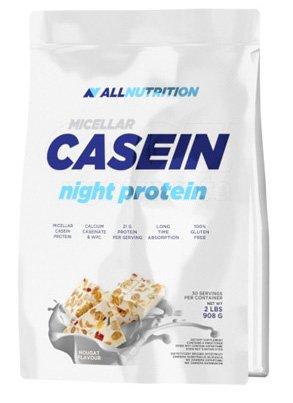All Nutrition Poudre de Protéine de Caséine Micellaire Chocolat Blanc