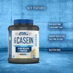 Applied Nutrition Supplément de Protéines de Caséine Micellaire Fraise