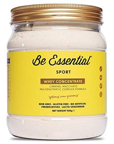 Be Essential Whey Concentré Saveur Caramel Taché 500 g