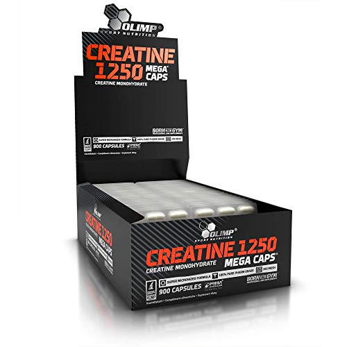 Olimp Nutrition Creatine 1250 Mega Caps Blister Box 30 x 30 Capsules