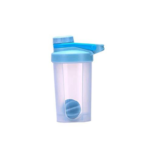 Poudre Shaker Bouteille Sports Fitness Mélange Whey Bouteille D'eau Sports Shaker Pour Gym Puissant Etanche 500Ml