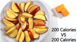 kalorier epler vs ost , hvordan øke metabolisme