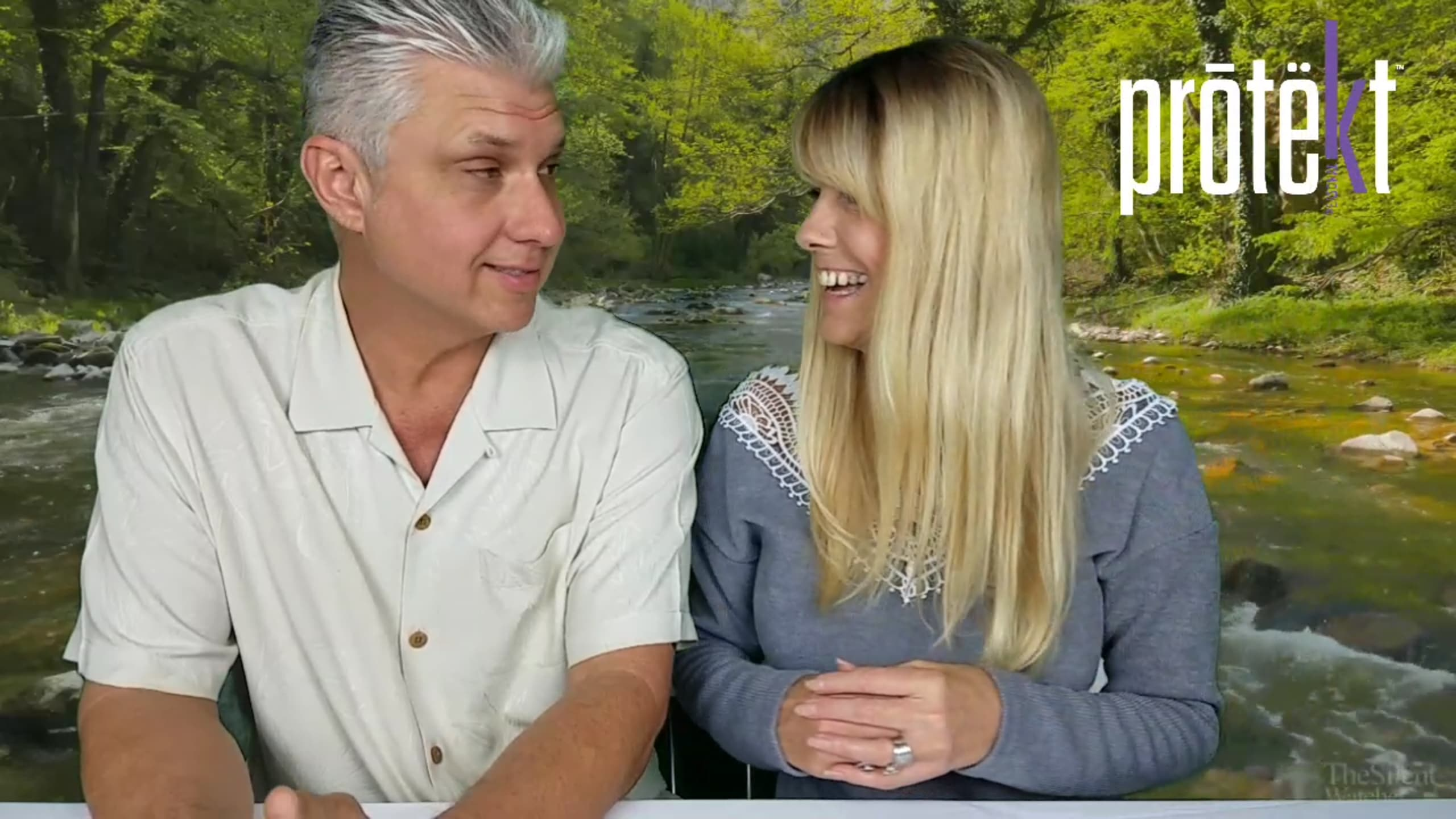 The hosts of the protekt probiotic video episode series