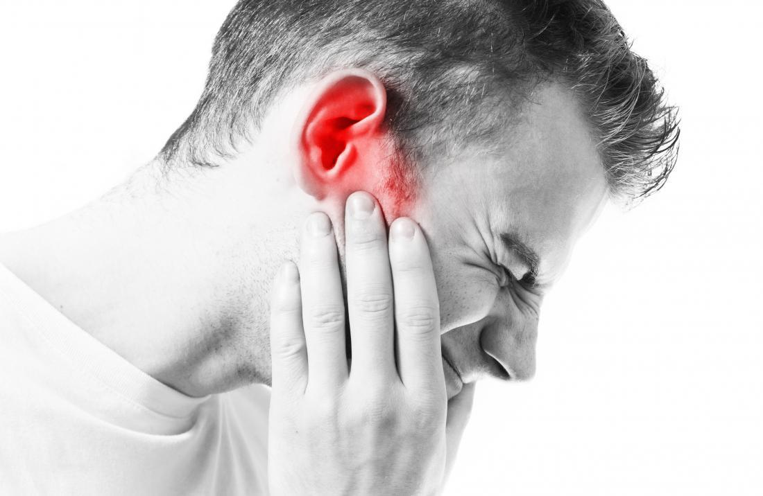 External probiotics for pain in the ear