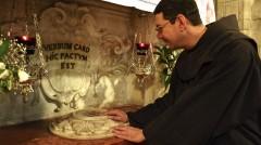 Fra Bruno alla Grotta dell'Annunciazione - Nazareth