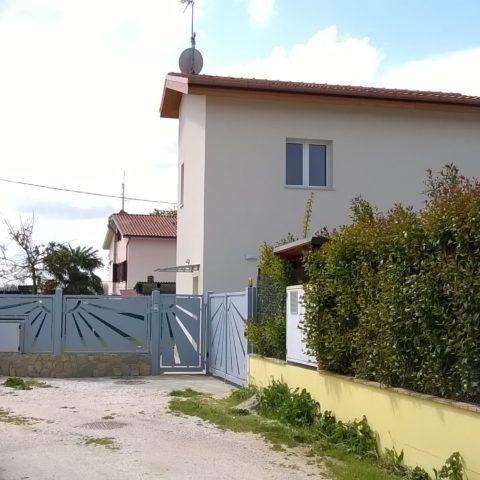 Casa in legno a Monte San Vito