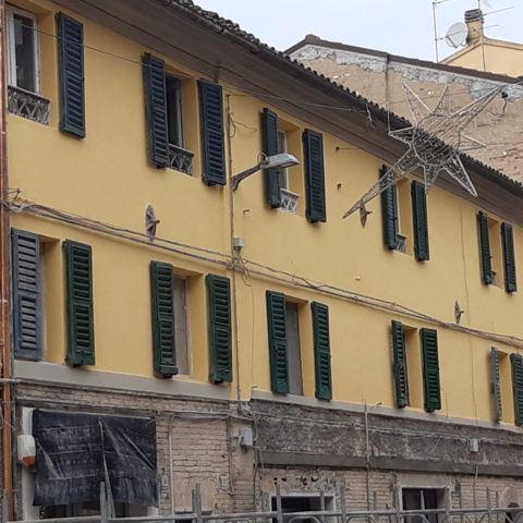 Cantiere a Chiaravalle