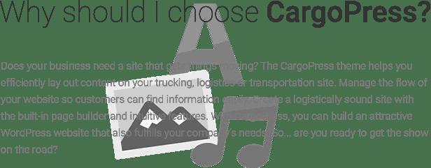 Reasons to choose CargoPress