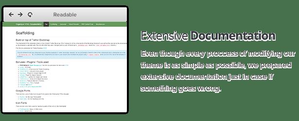 Extensive Documentation