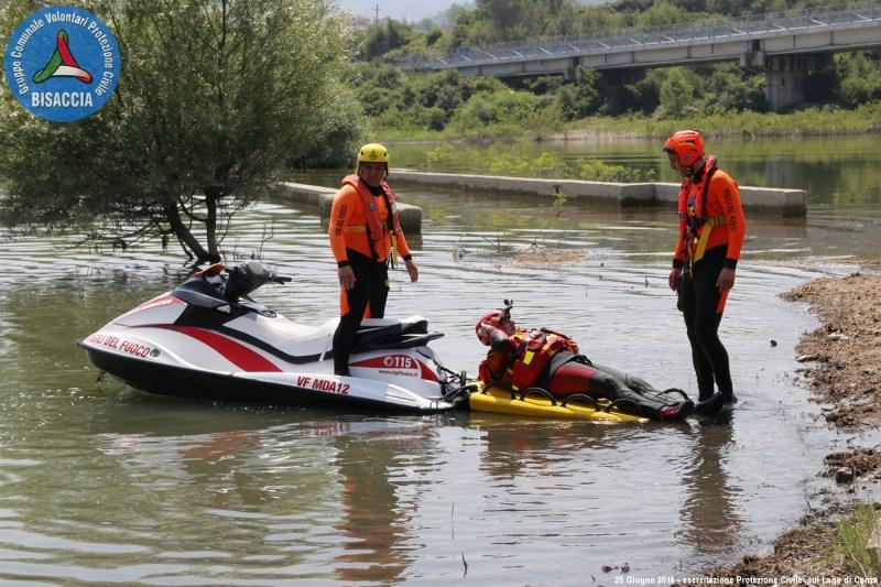 esercitazione Protezione Civile Lago Conza 11