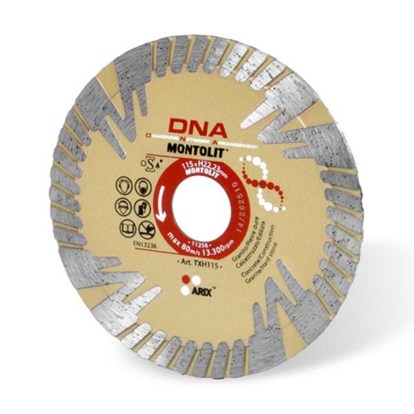 Montolit TXH DNA Diamond Disc Blade 115mm