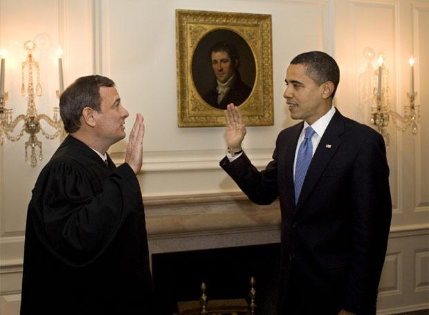 Barack Obama repitió su juramento