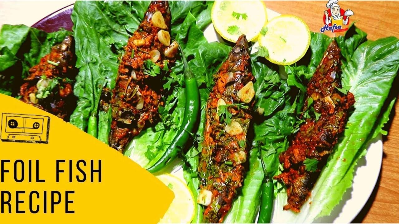 Foil Fish Recipes Pakistani | Fish Foil Grill Recipe