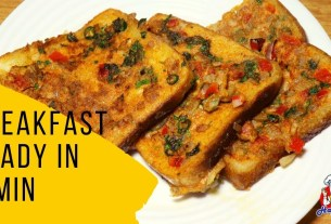Breakfast Recipes Easy Just in 5 Min | Bread Toast Recipe Indian