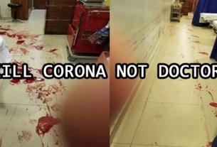 KILL CORONA NOT DOCTORS