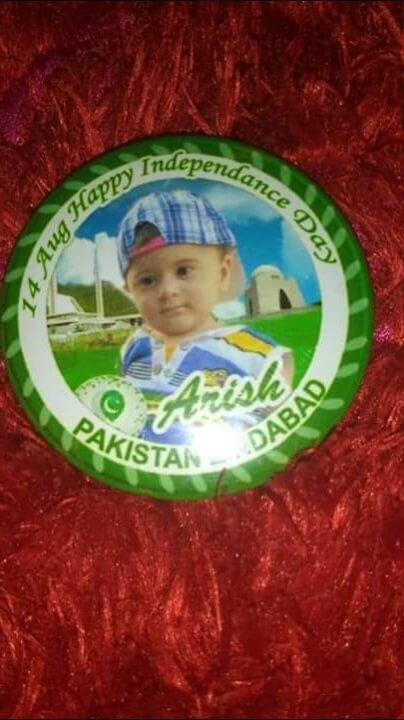 Customized 14 August Badge