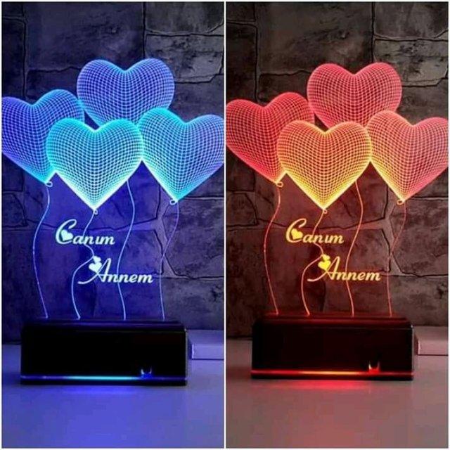 Customized LED lamps