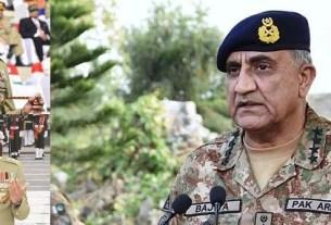 Army Chief visit to Karachi