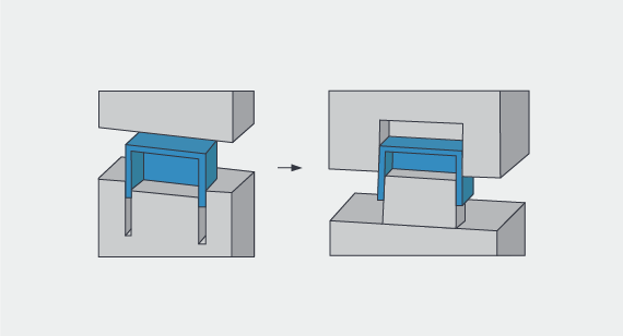 core cavity illustration