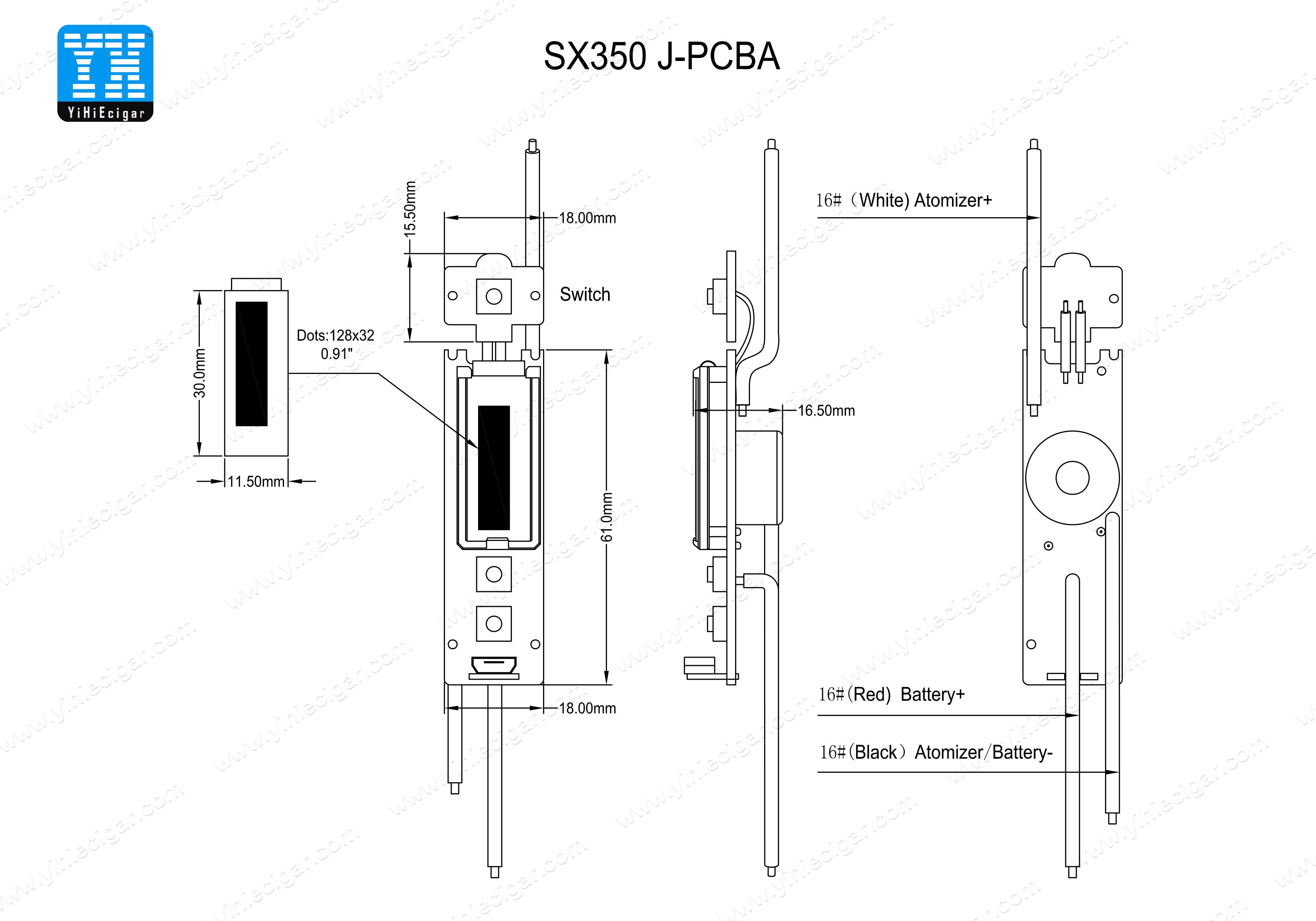 Yihi Sx350j 60w 120w Temperature Control Board