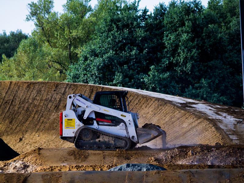 Velodrome National - Stadium BMX Construction