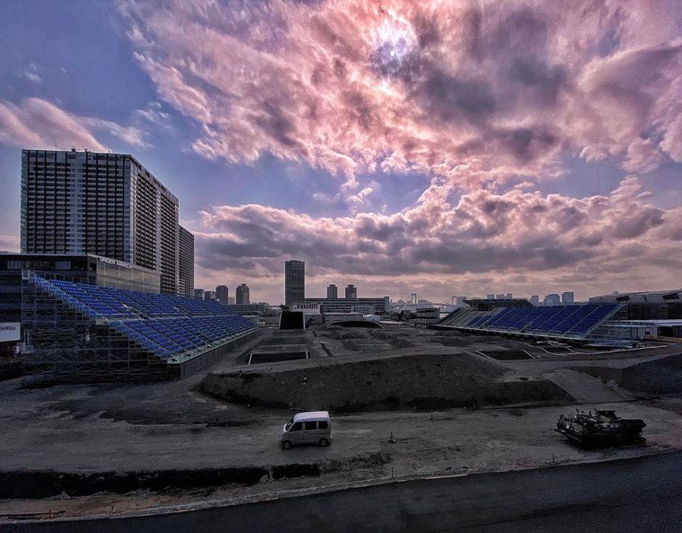 Tokyo 2020 - Posponed - BMX setup