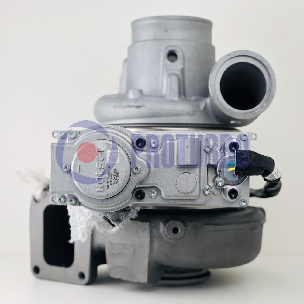 Remanufactured Cummins HE451VE Turbo with VGT Actuator