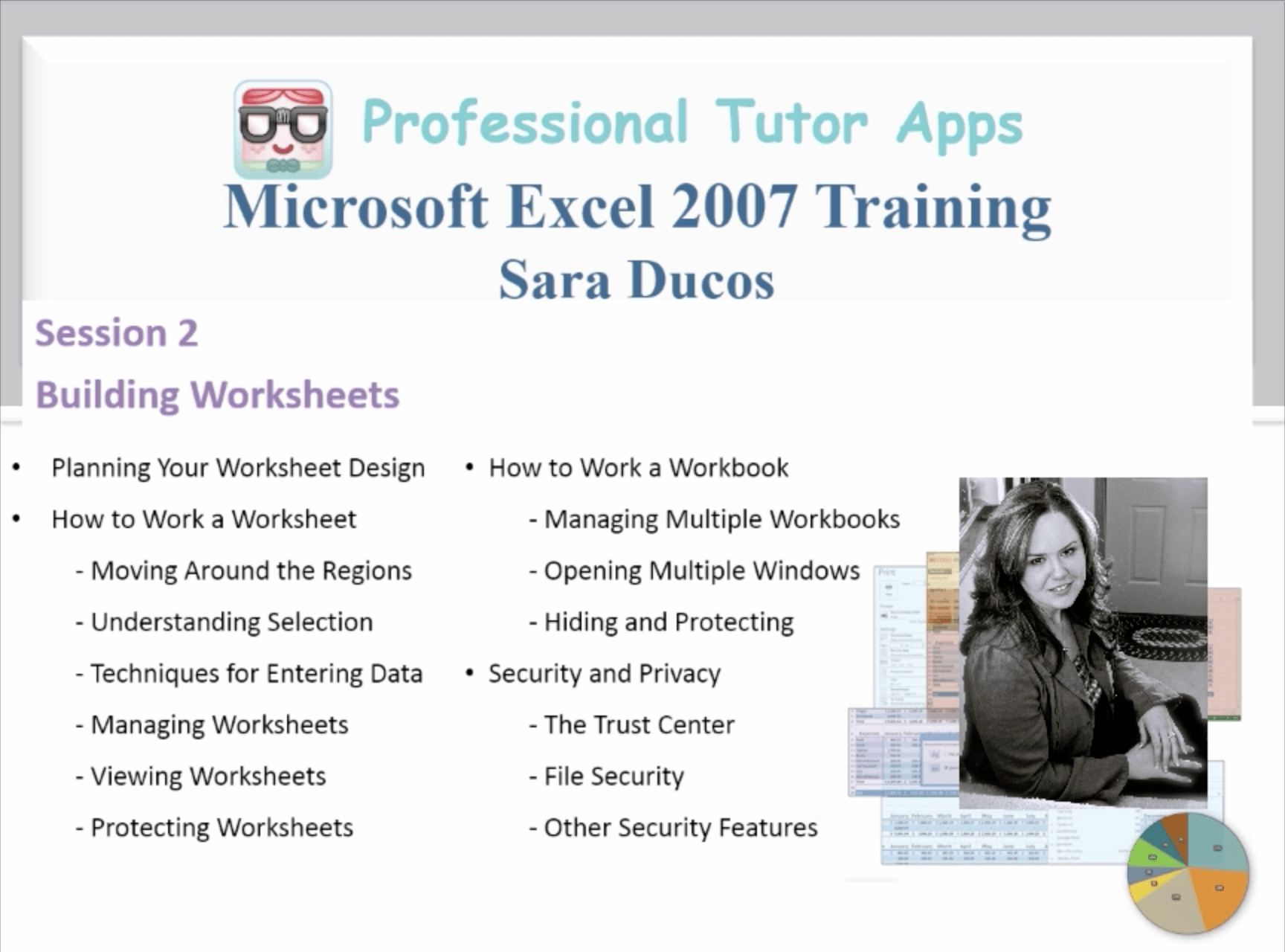 Microsoft Excel Session 2