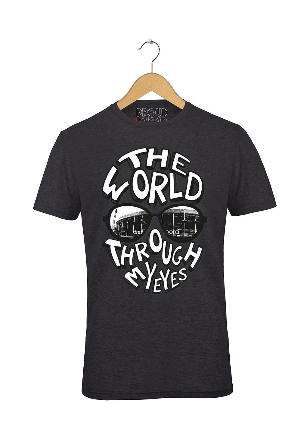 "Feyenoord T-shirt ""The world through my eyes"""