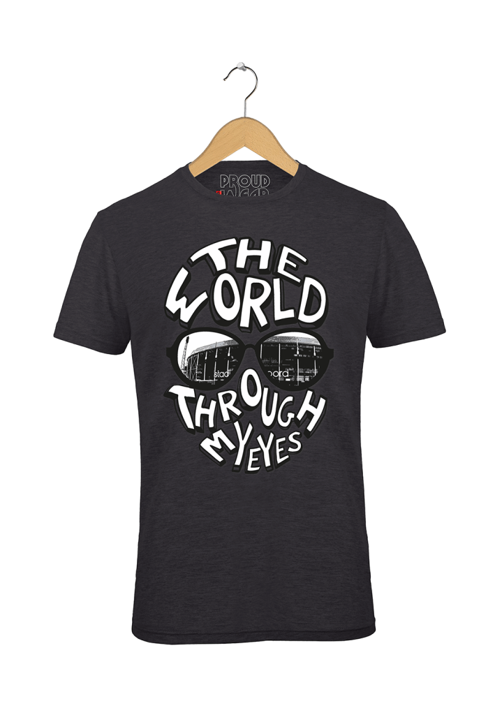 "Feyenoord T-shirt ""The world through my eyes"""