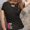 Angelique met Rotterdam T-shirt Rotterdam Attitude Achterkant