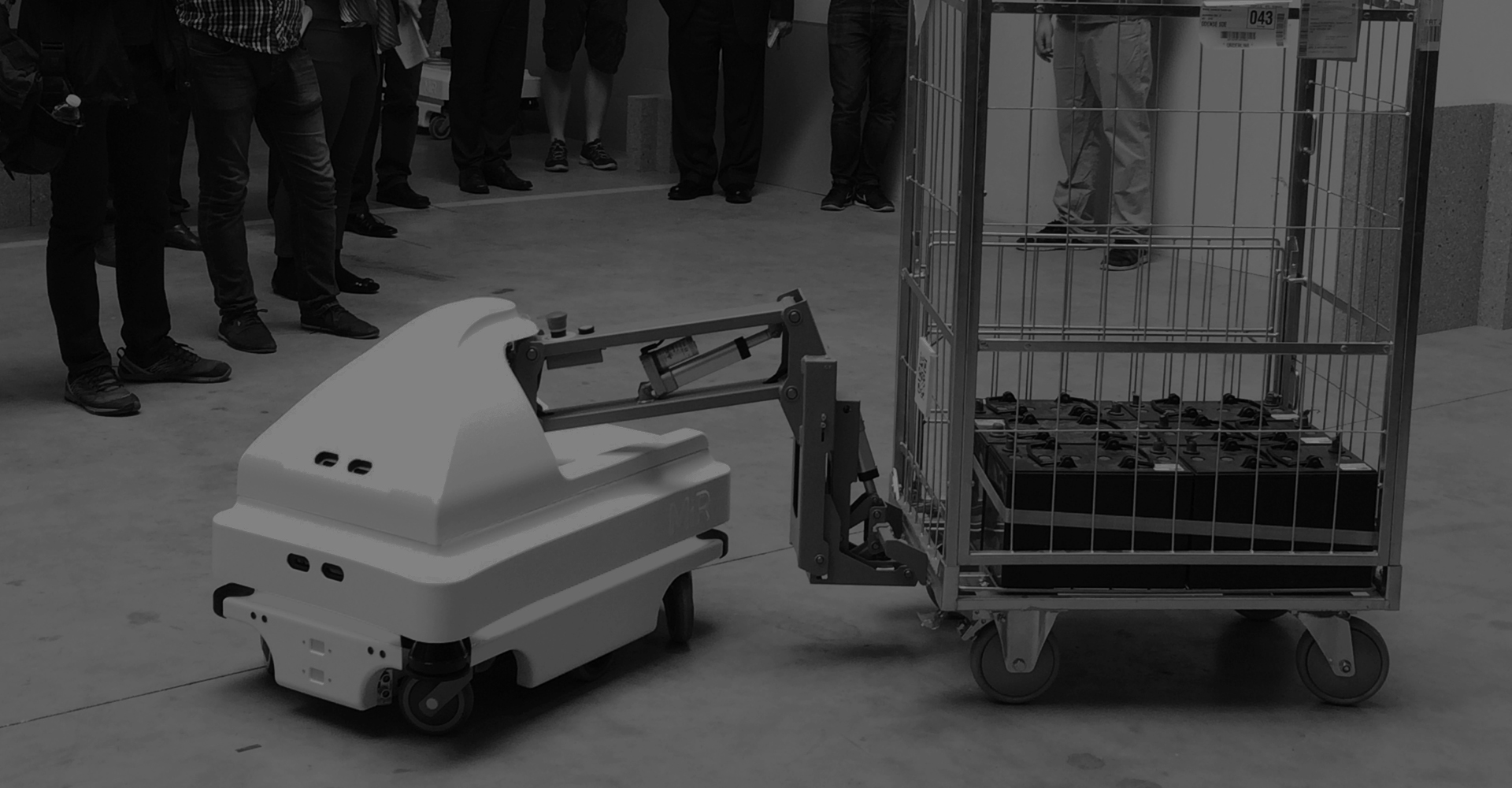 MiR mobile industrial robots