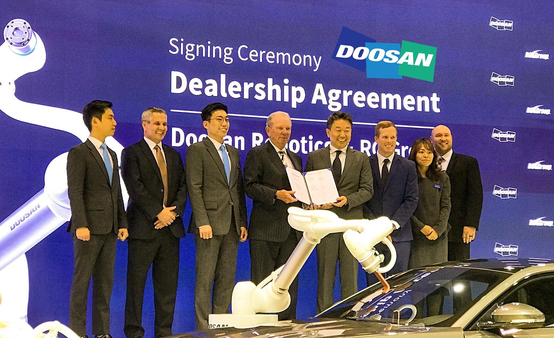 RG Group become a Doosan Distributor York PA