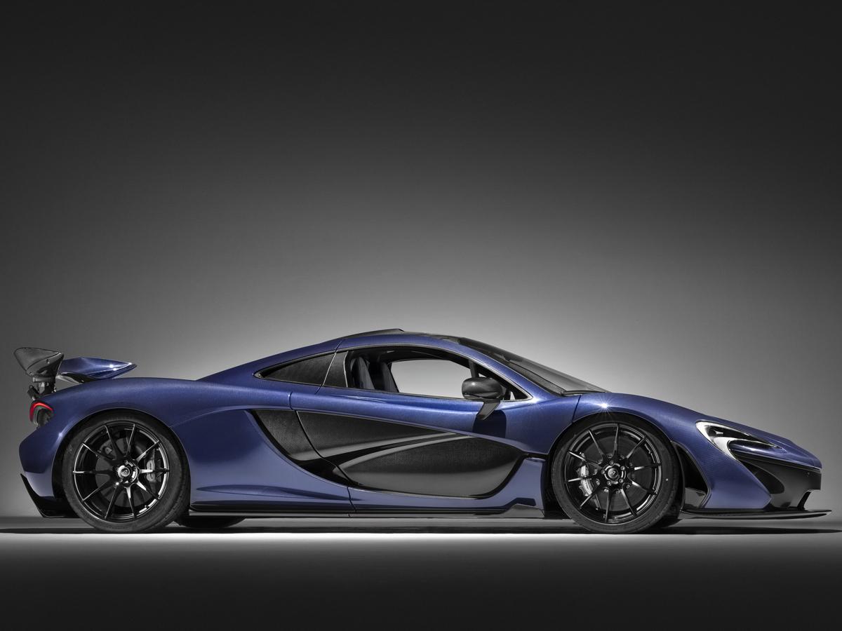mclaren-p1 karbon-look modell modelle sportwagen autosalon genf 2016