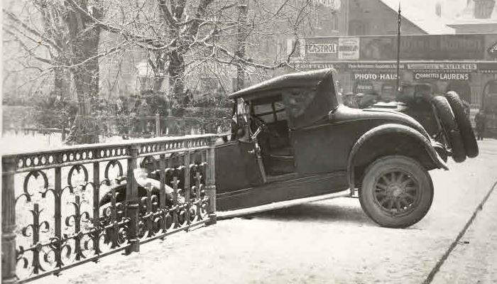 autounfall zürich 1929 historische bilder geschichte zürich