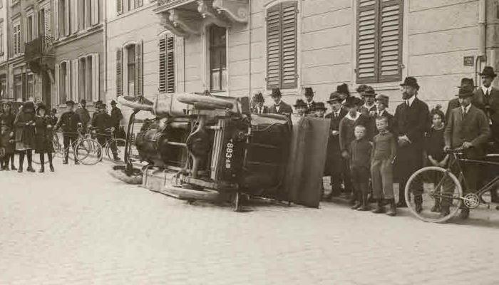 unfall unfälle zürich historische bilder 1920