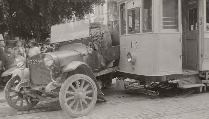 tram unfall kollision stadt zürich historische unfälle