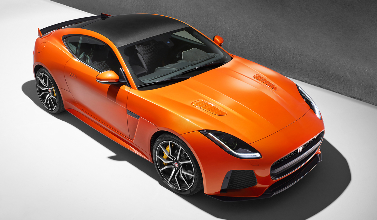 jaguar f type svr sportwagen neuheiten neue modelle modell