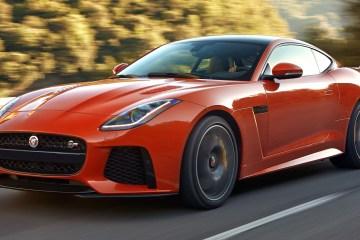 jaguar f type svr sportwagen neuheit neue modelle modell