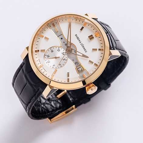 BUBEN&ZORWEG One Dual Time_gold_front