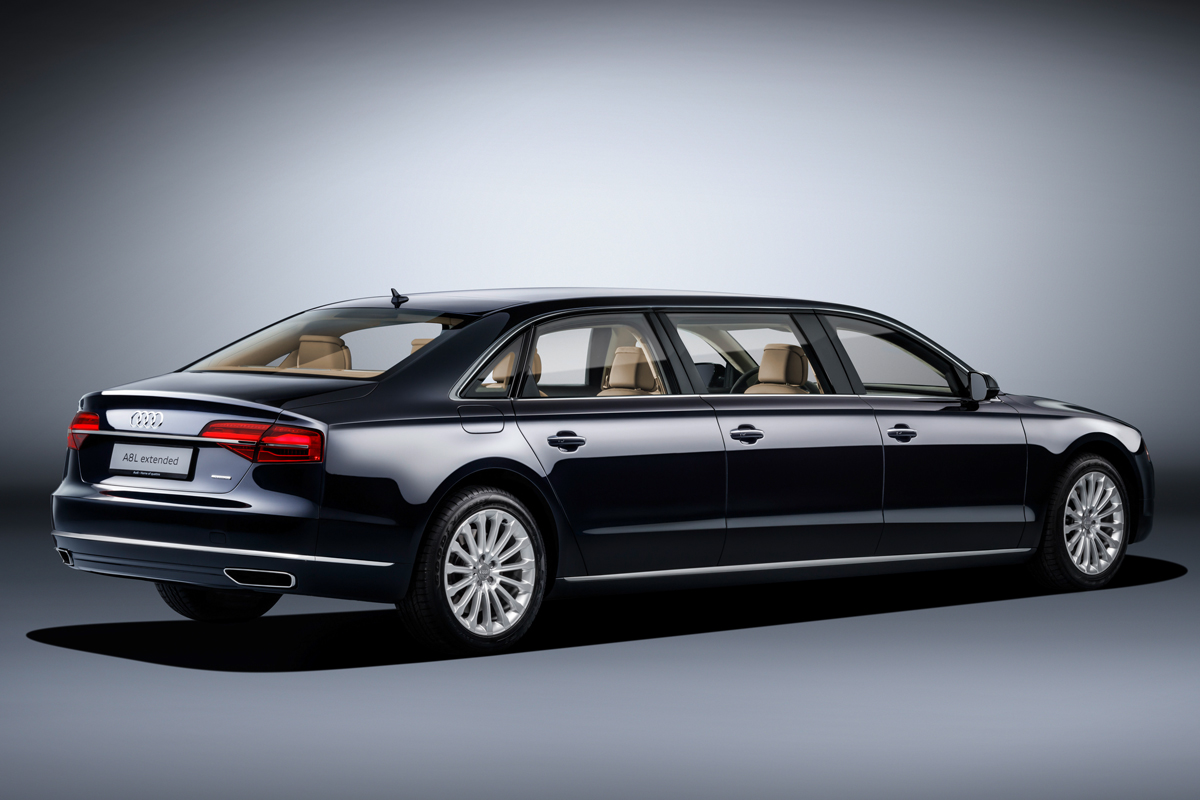 audi a8 limousine premium luxus-limousine sondermodell sonderanfertigung