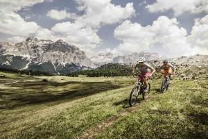 HANDOUT - Mountain Bike in Alta Badia. (PHOTOPRESS/Alta Badia/Manuel Sulzer)