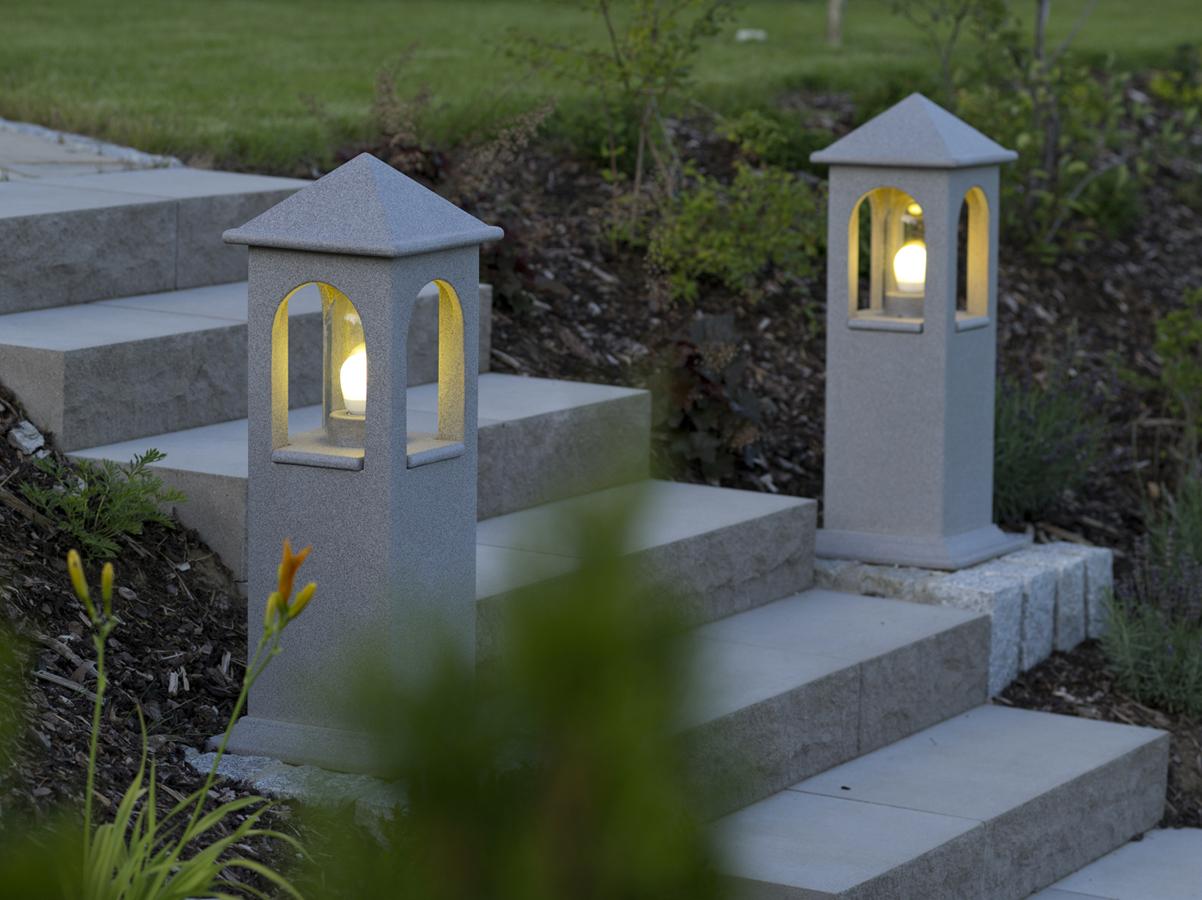 Outdoor Leuchte Beleuchtung Garten Lichthaus Treppen