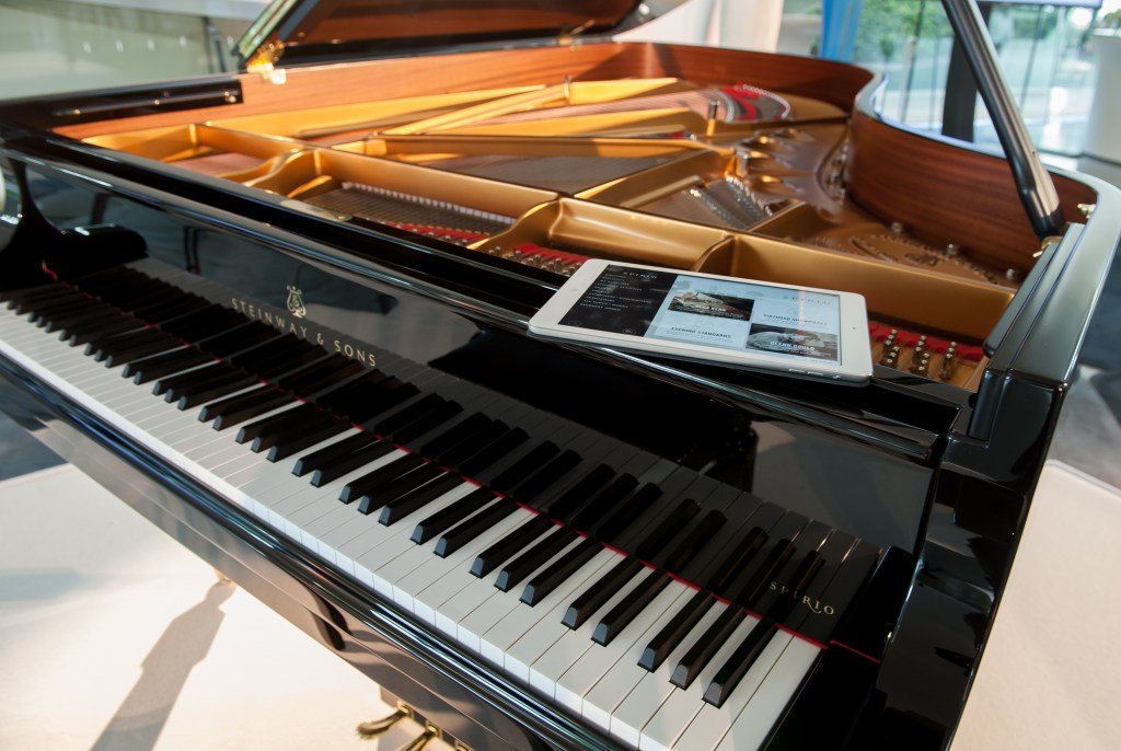 Steinway and Sons Spirio launch