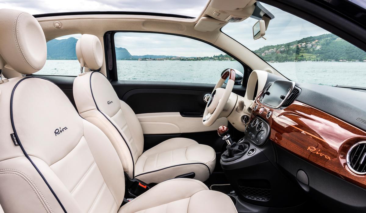 fiat 500 riva sondermodell limitiert cabrio cabriolet motorisierung ausstattung modelle sonderausstattung