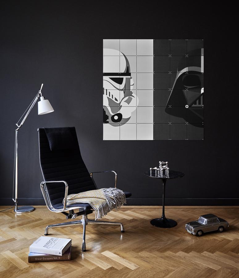 StarWars Wanddekoration Poster Unikat IXXI